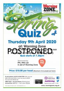 Warning Zone Spring Quiz