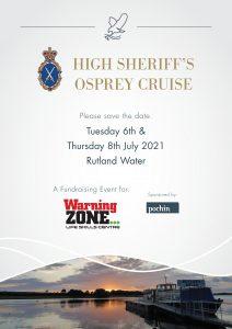 High Sheriff's Osprey Cruise